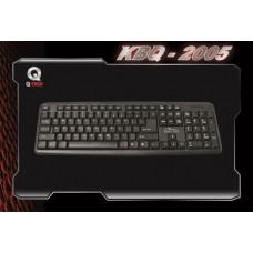 KEYBOARD CLASSIC Q-TECH USB KBQ-2005 BLK