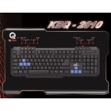 KEYBOARD M/MEDIA Q-TECH KBQ-2010 USB