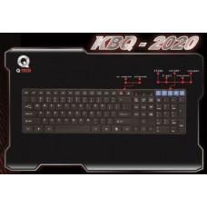 KEYBOARD M/MEDIA Q-TECH KBQ-2020 USB BL