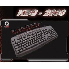 KEYBOARD M/MEDIA Q-TECH KBQ-2030 USB