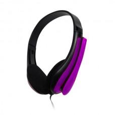 Ακουστικό με μικρόφωνο μωβ TP195