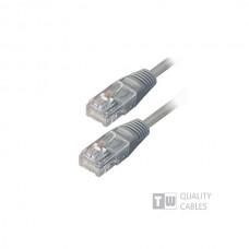 UTP LEVEL-5 1.5m grey 2xRJ45