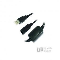 USB Προέκταση Cable 5M Α/Μ -A/F με ενίσχυση