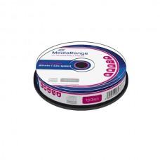 MR214 MediaRange CD-R 80 52x cakebox of 10pcs