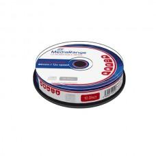 MR235 MediaRange CD-RW 80min 12x cakebox of 10pcs