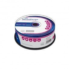 MR201 MediaRange CD-R 80 52x cakebox 25 pack