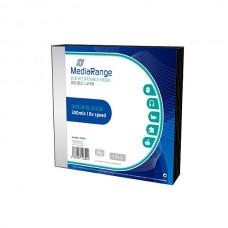 MR465 MediaRange DVD R DoubleLayer 8x Slimcase 5 pack