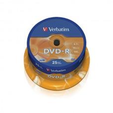 Verbatim DVD-R 16X 4.7GB 25pack