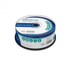 MR469 MediaRange DVD R DoubleLayer 8x 25 cakebox