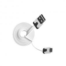 Καλώδιο USB σε Micro USB 1m λευκό Msonic