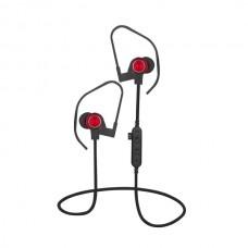 Ακουστικό Bluetooth V4.2 με μικρόφωνο και microSD Κόκκινο PLATINET