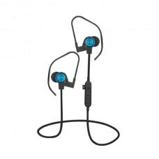 Ακουστικό Bluetooth V4.2 με μικρόφωνο και microSD Μπλε PLATINET