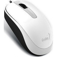 GENIUS MOUSE DX-120, WIRED, USB, OPTICAL, WHITE