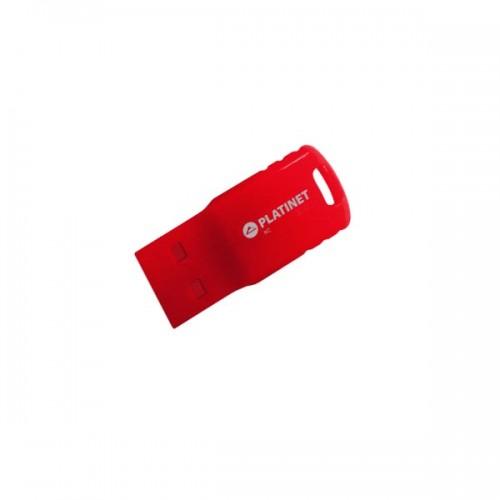 PLATINET USB 2.0 F-DEPO Flash Disk 16GB Waterproof κόκκινο PMFF16R