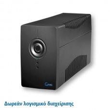 GTEC UPS 1000VA LINE INTERACTIVE PC615N/1000VA